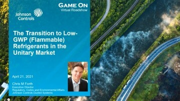 Regulatory: The Transition to Low GWP (Flammable) Refrigerants in the Unitary Market – 1 PDH credit