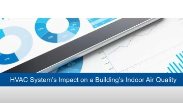HVAC System's Impact on a Building's Indoor Air Quality (IAQ) – 1 PDH credit